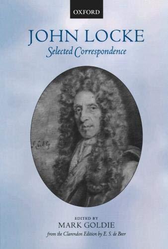 9780199204304: John Locke: Selected Correspondence