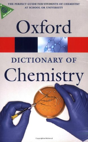 9780199204632: A Dictionary of Chemistry (Oxford Quick Reference)