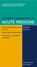 9780199204984: OXFORD HANDBOOK OF ACUTE MEDICINE.