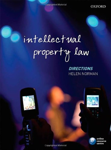 9780199205097: Intellectual Property Law Directions