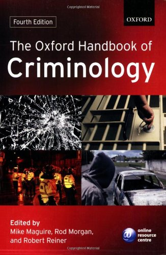 9780199205431: The Oxford Handbook of Criminology