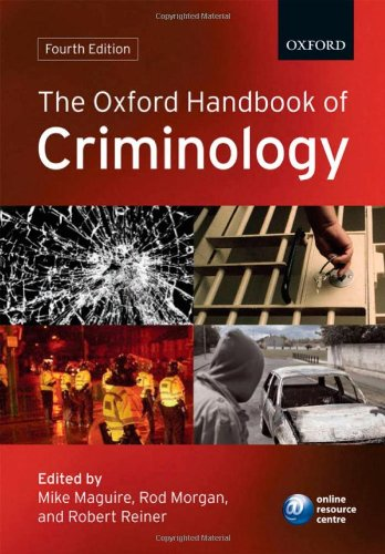 9780199205448: The Oxford Handbook of Criminology (Oxford Handbooks)
