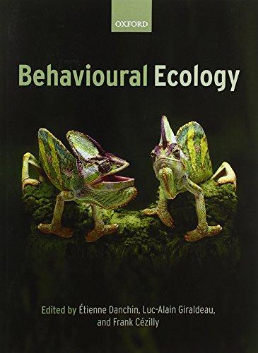 9780199206292: Behavioural Ecology: An Evolutionary Perspective on Behaviour