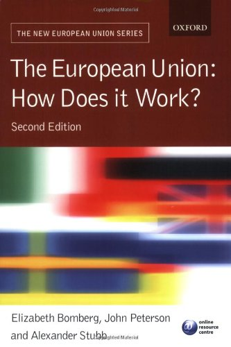 9780199206391: The European Union: How Does it Work?
