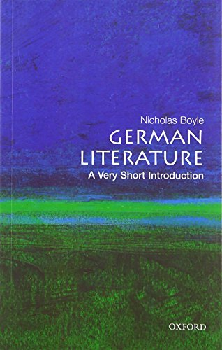 9780199206599: German Literature: A Very Short Introduction