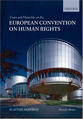 9780199206742: Cases and Materials on The European Convention on Human Rights