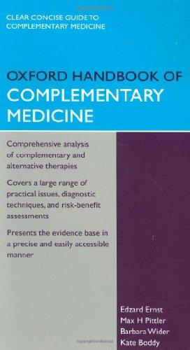 9780199206773: Oxford Handbook of Complementary Medicine (Oxford Handbooks Series)