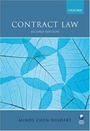 9780199207169: Contract Law