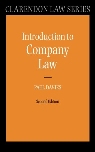 Introduction to Company Law (Clarendon Law) (Clarendon Law Series) (Paperback)