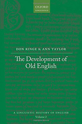 9780199207848: The Development of Old English (A Linguistic History of English)