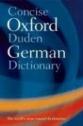9780199208135: Concise Oxford-Duden German Dictionary: Special edition with FREE SpeakGerman Pronunciation CD-ROM