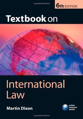 9780199208180: Textbook on International Law