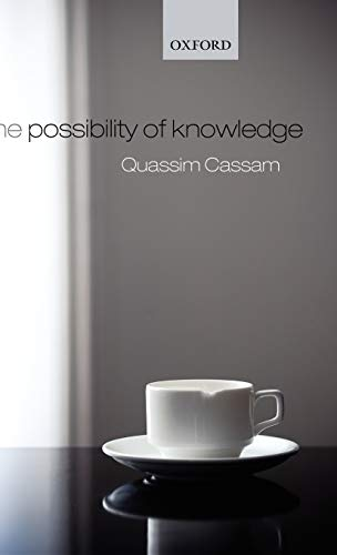 9780199208319: The Possibility of Knowledge