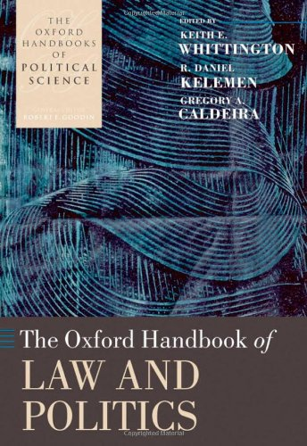 9780199208425: The Oxford Handbook of Law and Politics (Oxford Handbooks)
