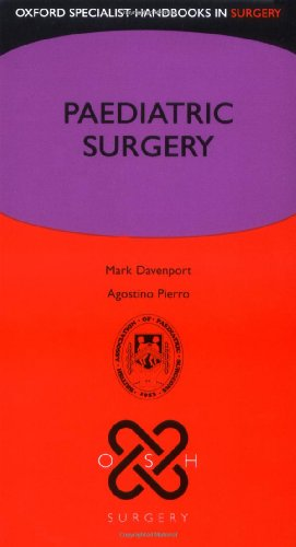 9780199208807: Paediatric Surgery (Oxford Specialist Handbooks in Surgery)