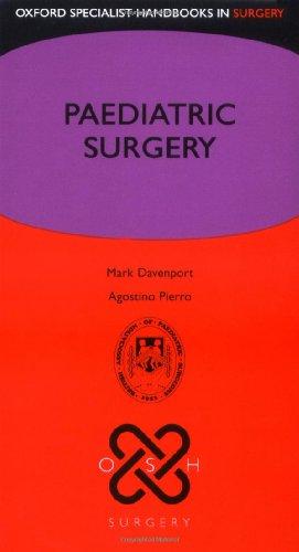 9780199208807: Paediatric Surgery (Oxford Specialist Handbooks in Surgery)