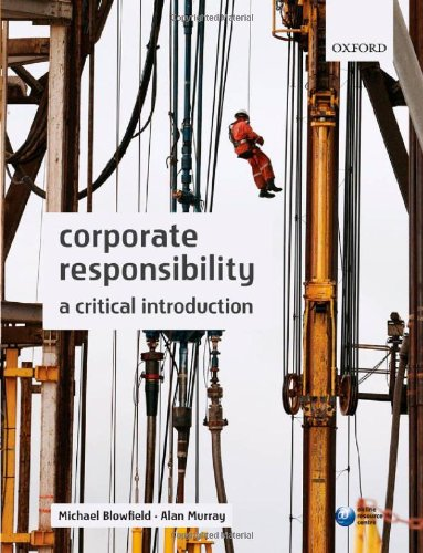 9780199209095: Corporate Responsibility: A Critical Introduction