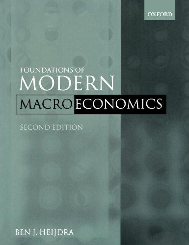 9780199210695: Foundations of Modern Macroeconomics
