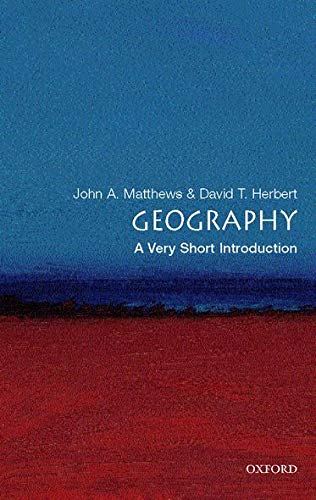 9780199211289: Geography: A Very Short Introduction