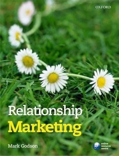 9780199211562: Relationship Marketing