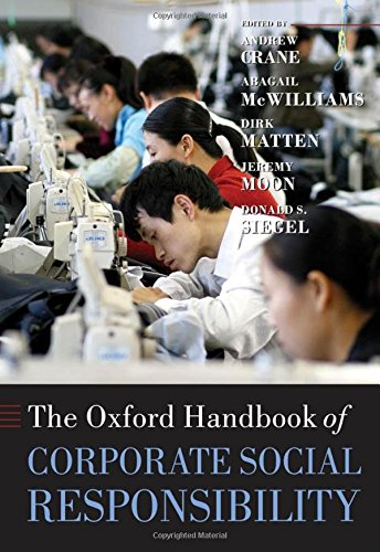 9780199211593: The Oxford Handbook of Corporate Social Responsibility