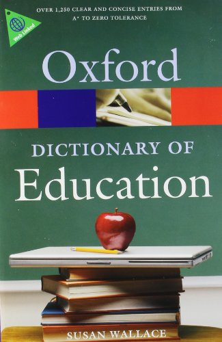 9780199212071: A Dictionary of Education (Oxford Paperback Reference)