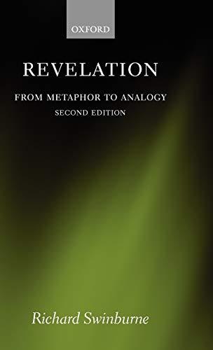 9780199212460: Revelation: From Metaphor to Analogy