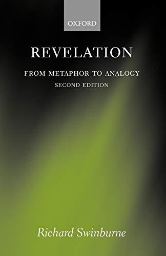 9780199212477: Revelation: From Metaphor to Analogy