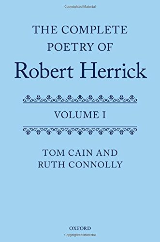 Complete Poetry of Robert Herrick 2 vols set