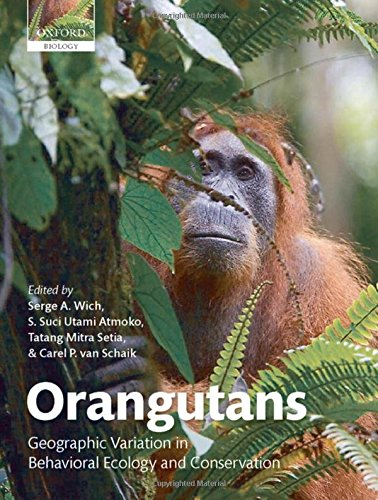 9780199213276: Orangutans: Geographic Variation in Behavioral Ecology and Conservation