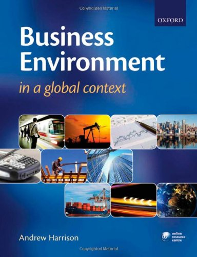 9780199214006: Business Environment in a Global Context