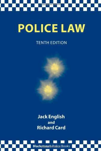 9780199214068: Police Law