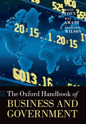 9780199214273: The Oxford Handbook of Business and Government