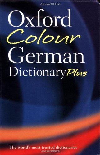 9780199214716: Oxford Colour German Dictionary Plus