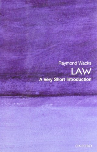 9780199214969: Law: A Very Short Introduction