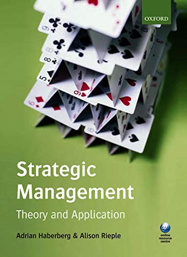 9780199216468: Strategic Management: Theory and Application