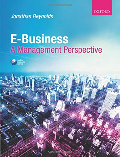 9780199216482: E-Business: A Management Perspective