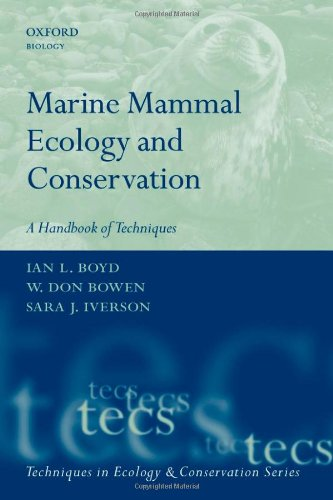 9780199216567: Marine Mammal Ecology and Conservation: A Handbook of Techniques