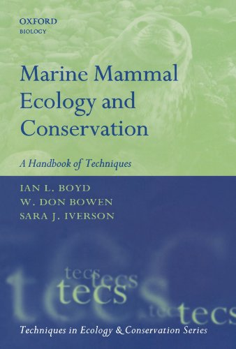 9780199216574: Marine Mammal Ecology and Conservation: A Handbook of Techniques