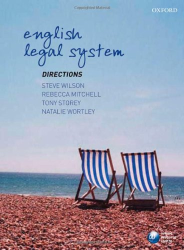 English Legal System Directions (Directions series): Steve Wilson; Rebecca