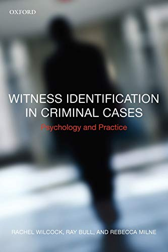 9780199216932: Witness Identification in Criminal Cases: Psychology and Practice