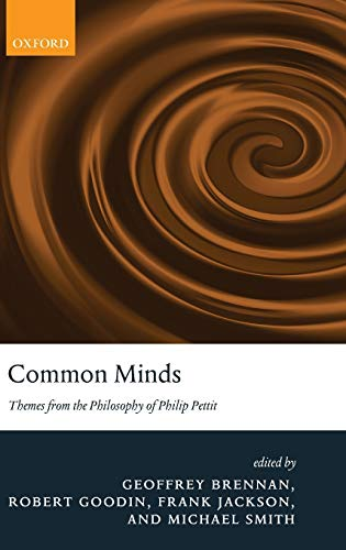 9780199218165: Common Minds: Themes from the Philosophy of Philip Pettit