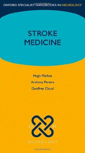 9780199218776: Stroke Medicine (Oxford Specialist Handbooks in Neurology)