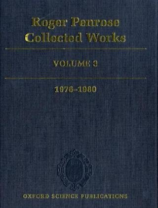 9780199219384: Roger Penrose: Collected Works, Vol. 3