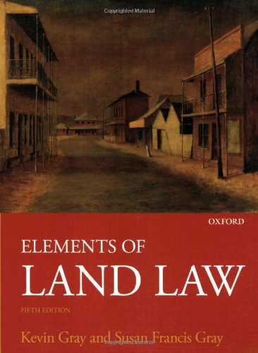 9780199219728: Elements of Land Law