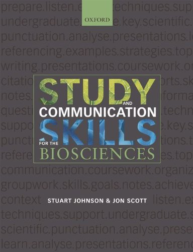 9780199219834: Study & Communication Skills for the Biosciences