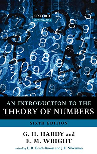 9780199219858: An Introduction to the Theory of Numbers