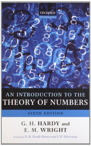 9780199219865: An Introduction to the Theory of Numbers