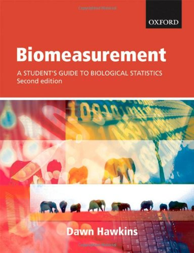 9780199219995: Biomeasurement: A student's guide to biological statistics