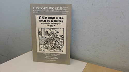 History Workshop (A Journal of Socialist and: Various